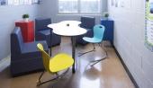 Ven-Rez Seating & Puddle Table - Brookside Jr. High School