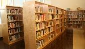 Horizon Wood Library Shelving