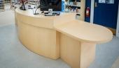 Ven-Rez Custom Circulation Desk