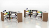 Studio Library Shelving, Ven-Rez