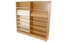 Library Wood Shelving