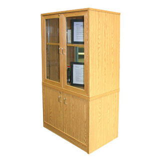 Horizon Glass Display Cabinet (Library)