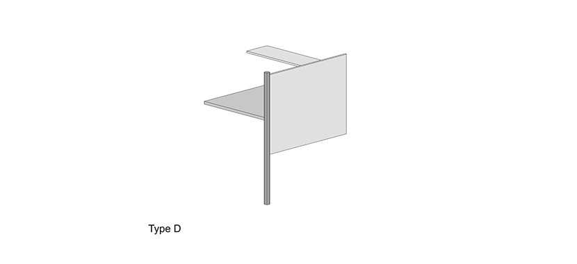 Study Carrel System Type D (Library)