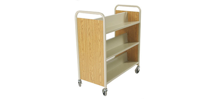 Horizon Steel+Laminate Book Trucks (Library) 830x380