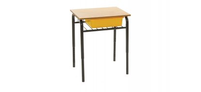 Horizon Wire Bookshelf Desk with Tote Box (Classroom)