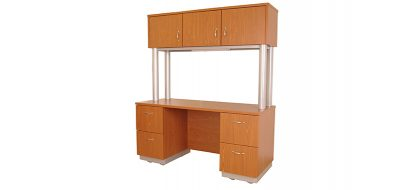 HT Series Credenza and Hutch (Office)