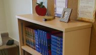 Shelburne High School Horizon Wood Bookcase