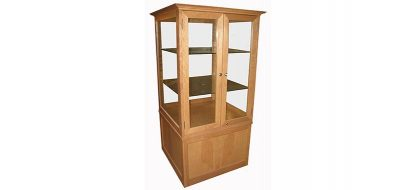 Horizon Open Glass Display Cabinet