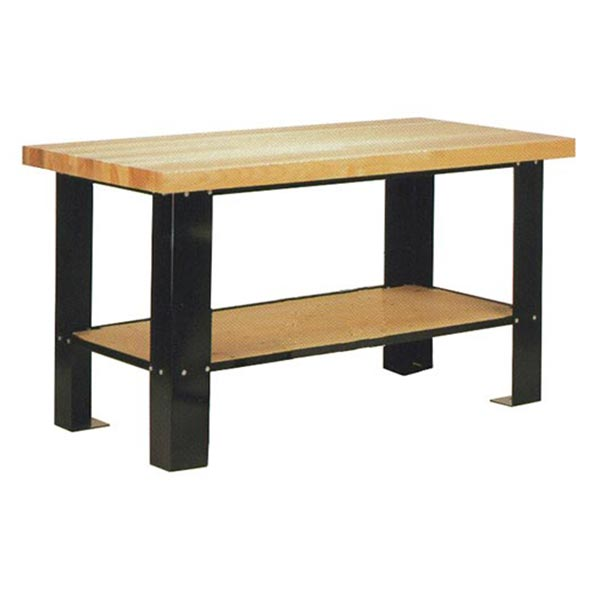 60 Series Hardwood Top Work Bench