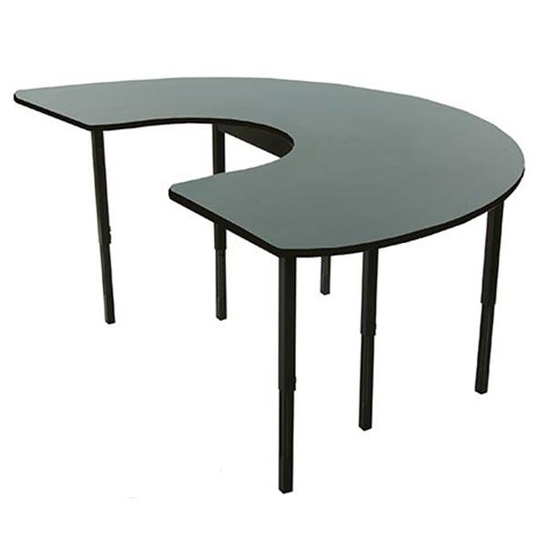 Horizon 11 Series C Shaped Table