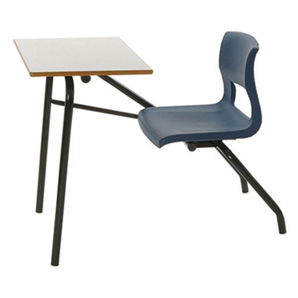 hercules ii pedestal tablet arm chair ven rez