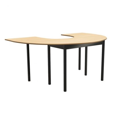 "11 Series C Shape Table 72"" x 48"""