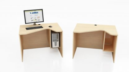 Ven-Rez 53 Series Saw Tooth computer table