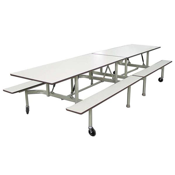 Bench Cafeteria Tables