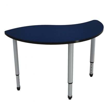 Ven-Rez Freedom Series Wavy Half Round table