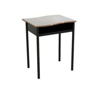 Horizon Open Front Wavy Top Desk