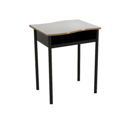 Horizon Open Front Wavy Top Desk