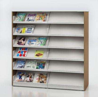 Horizon Periodical Display and Storage Shelving